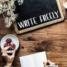 write freely